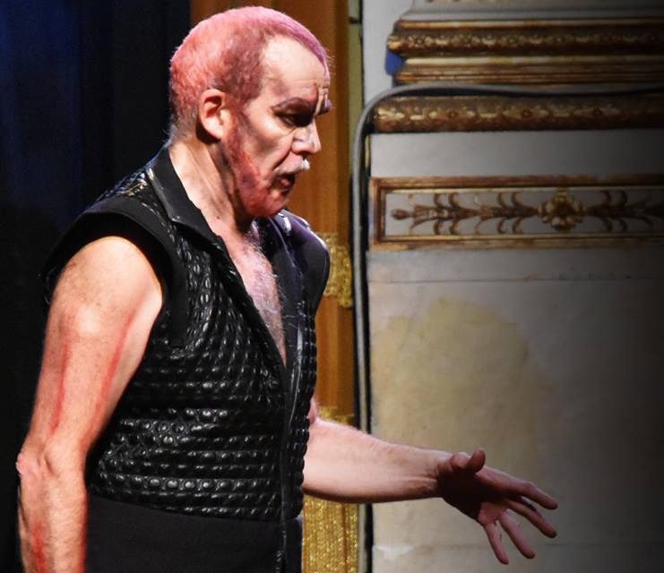 Mefistofele Pisa 2016 - Regia Stinchelli Enrico- Prestia Giacomo in the title role, roledebut- primo piano