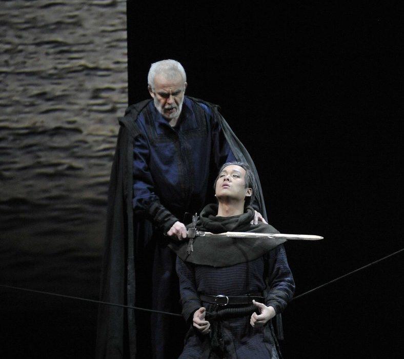 Simon Boccanegra- Teatro La Fenice di Venezia, 2014- Giacomo Prestia as Fiesco - aria minaccia coltello