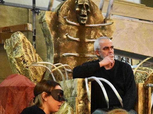 Mefistofele Pisa 2016 - Regia Stinchelli Enrico- Prestia Giacomo in the title role, roledebut - prove