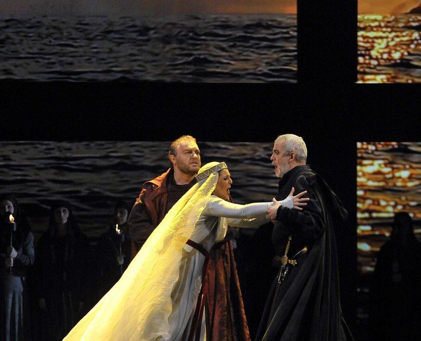 Simon Boccanegra- Teatro La Fenice di Venezia, 2014- Giacomo Prestia as Fiesco quartetto finale