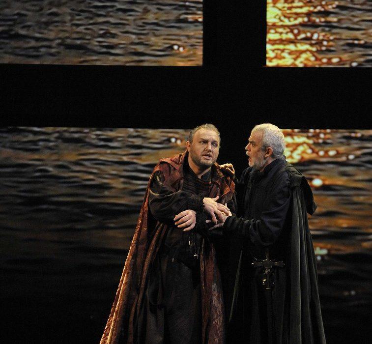 Simon Boccanegra- Teatro La Fenice di Venezia, 2014- Giacomo Prestia as Fiesco finale duetto