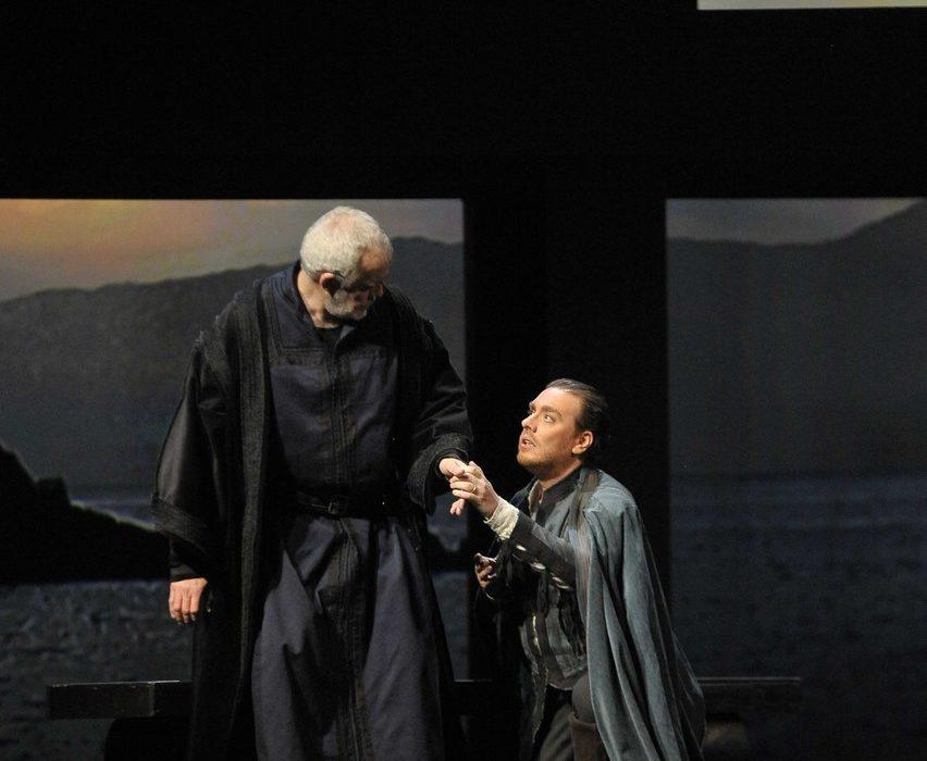 Simon Boccanegra- Teatro La Fenice di Venezia, 2014- Giacomo Prestia as Fiesco duetto