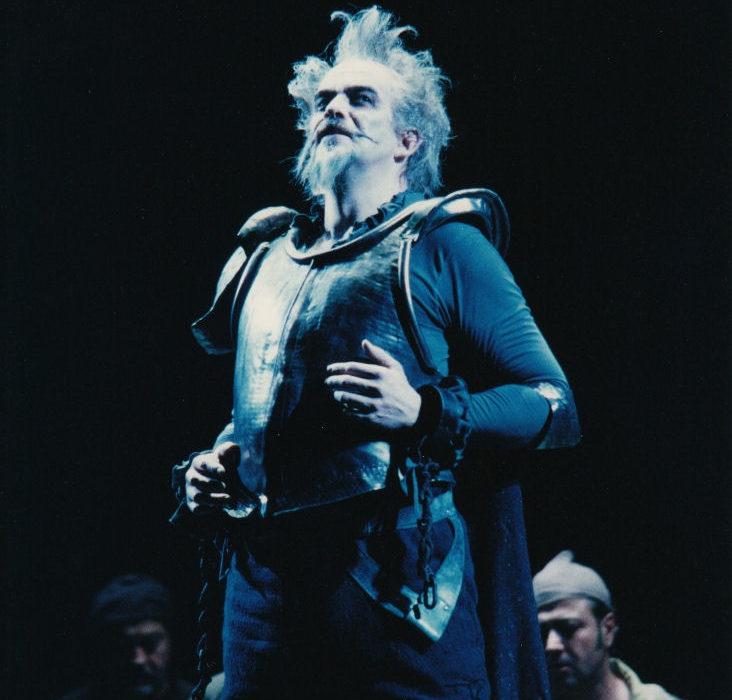 Don Quichotte - Giacomo Prestia in the title role