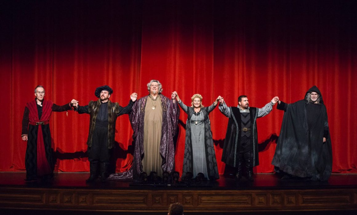 Simon Boccanegra Las Palmas 2016- curtain call