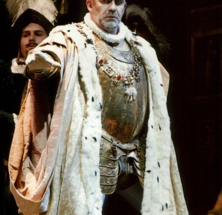 Don Carlo al Massimo di Palermo- Giacomo Prestia as Filippo II