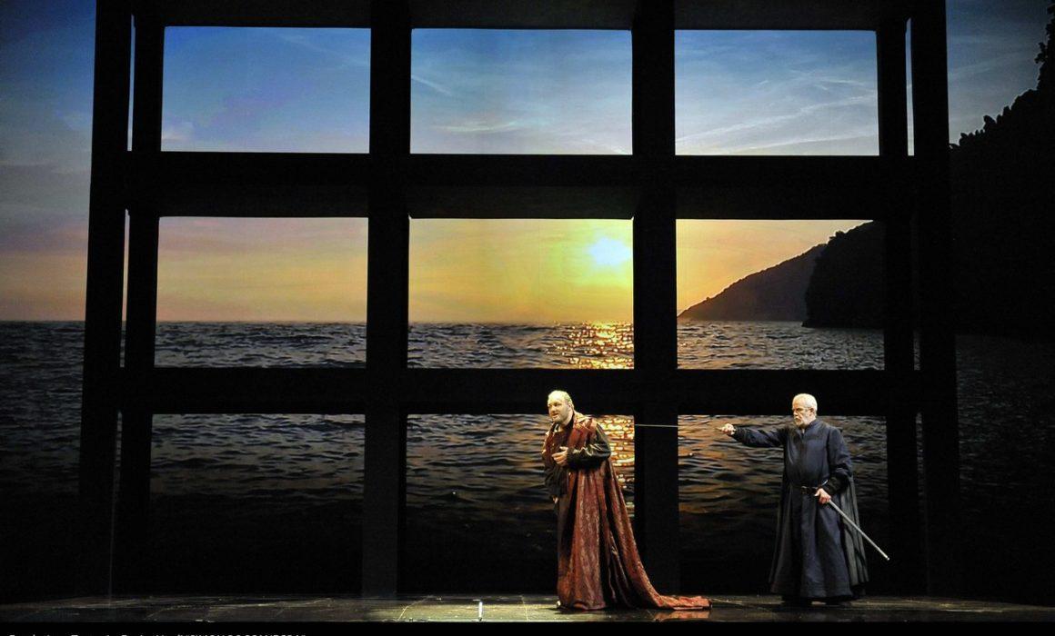 Simon Boccanegra- Teatro La Fenice di Venezia, 2014- Giacomo Prestia as Fiesco- con Piazzola, finale