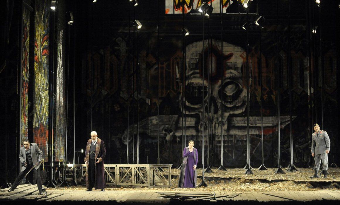I Masnadieri- Prestia as Moor father- Napoli with the soprano 2
