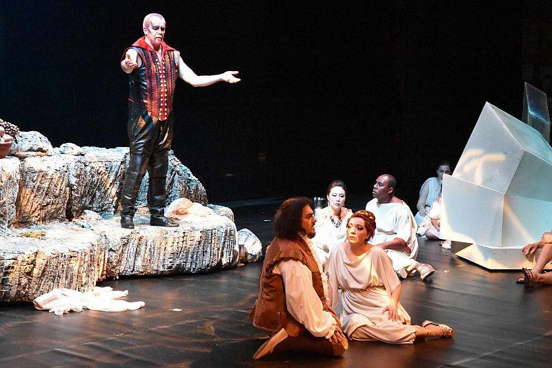 Mefistofele Pisa 2016 - Regia Stinchelli Enrico- Prestia Giacomo in the title role, roledebut con soprano e tenore
