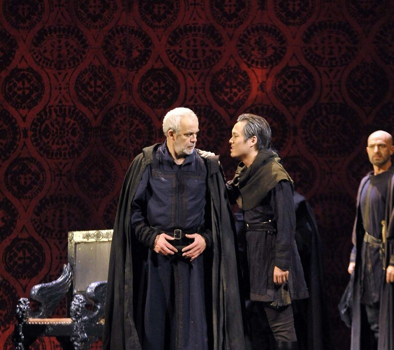 Simon Boccanegra- Teatro La Fenice di Venezia, 2014- Giacomo Prestia as Fiesco nelle stanze