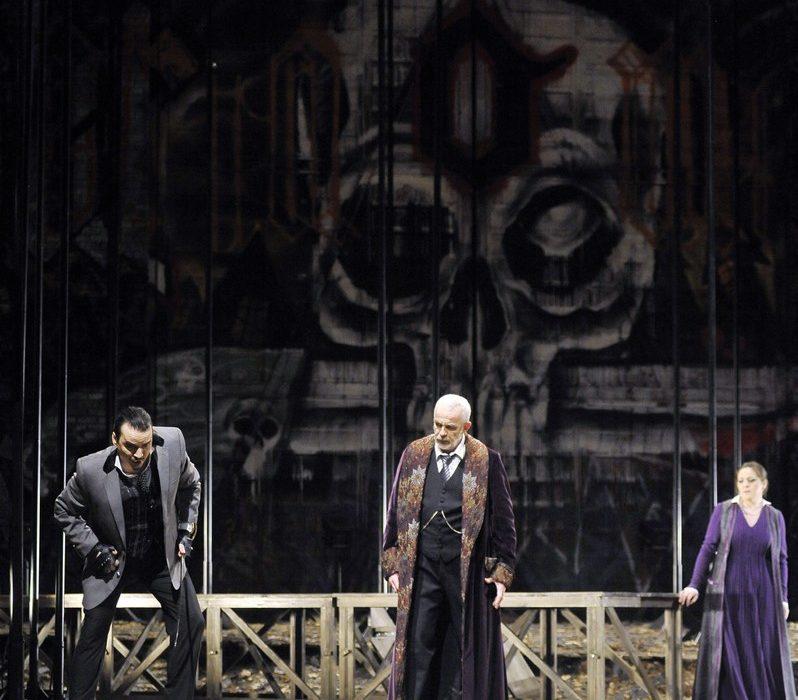 I Masnadieri- Prestia as Moor father- Napoli - with baritono and soprano