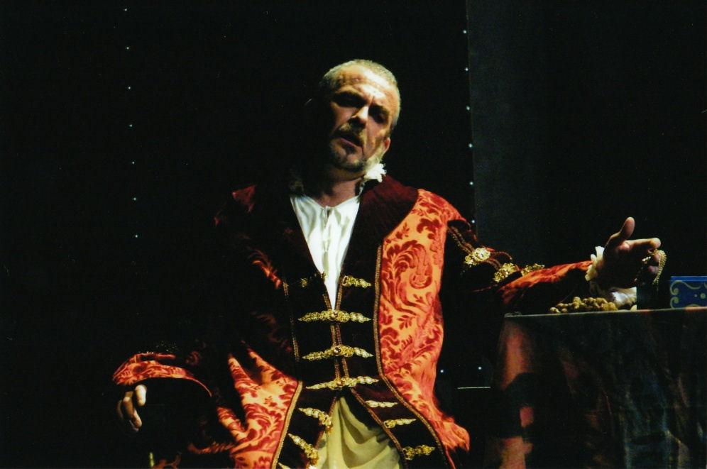 Don Carlo al Massimo di Palermo- Giacomo Prestia as Filippo II scena Aria terzo atto