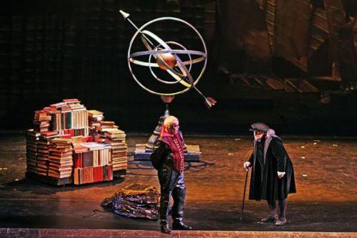 Mefistofele Pisa 2016 - Regia Stinchelli Enrico- Prestia Giacomo in the title role, roledebut - scena aria principale inizio