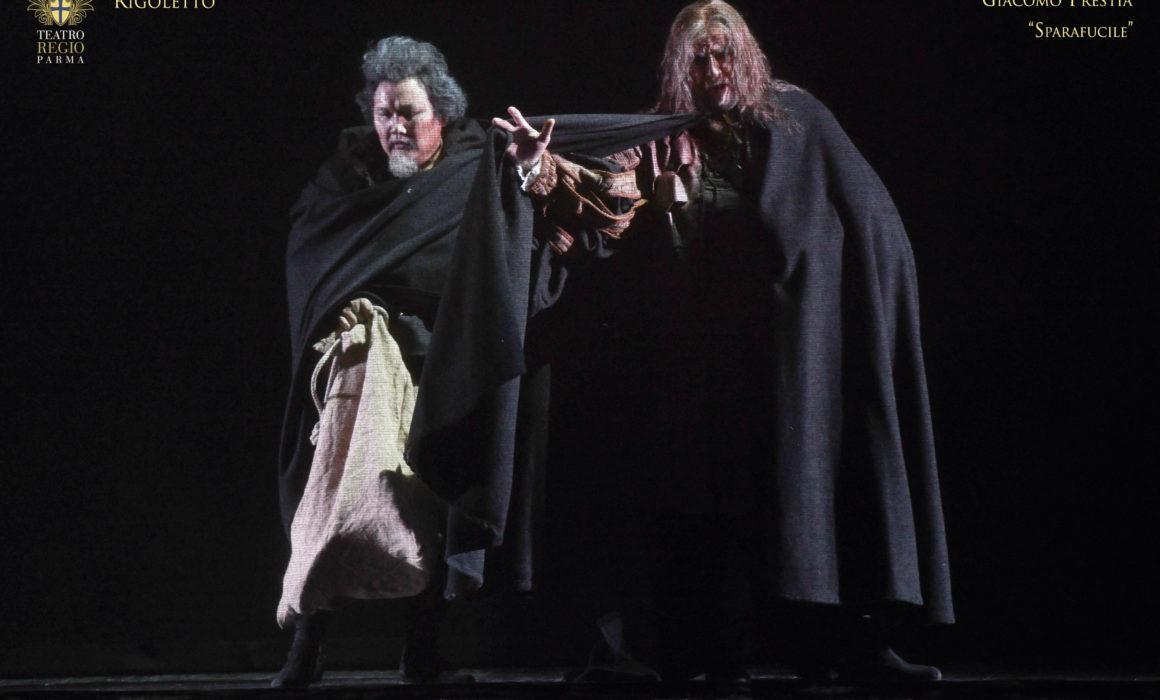 Rigoletto Regio di Parma - Giacomo Prestia as Sparafucile- Gennaio 2018 - with Amartuvshin Enkhbat