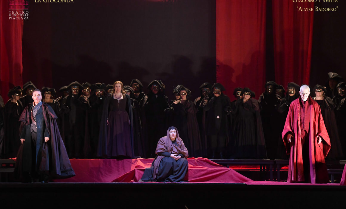 Giacomo Prestia and all the cast La Gioconda 12