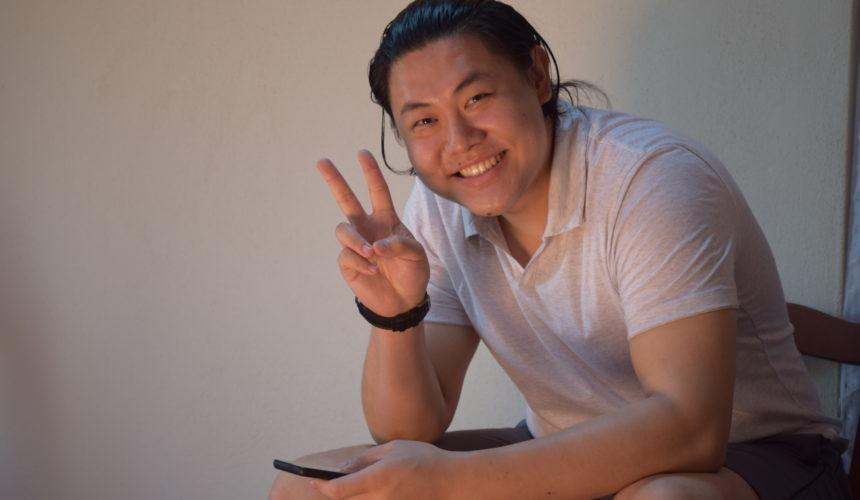 li huang hong felice segno di vittoria