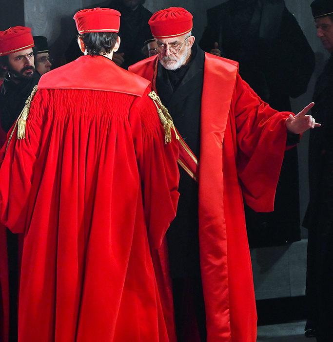 toga rossa